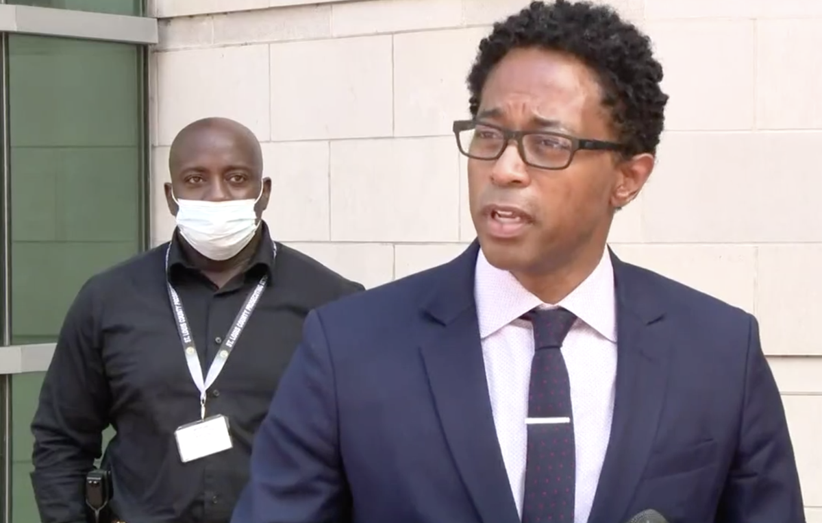 Wesley Bell charges two Velda City officers with assault, says use of force was illegal