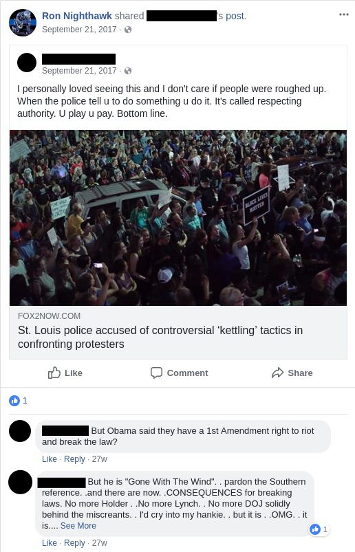 Ethical Society of Police calls for firing of cops over racist posts