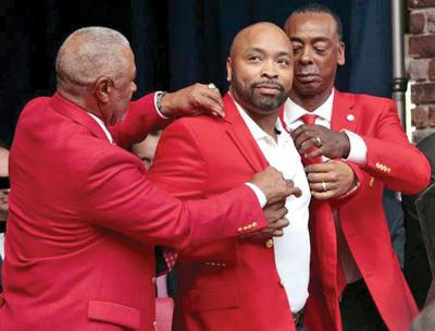 Ozzie Smith, Ray Lankford and Willie McGee