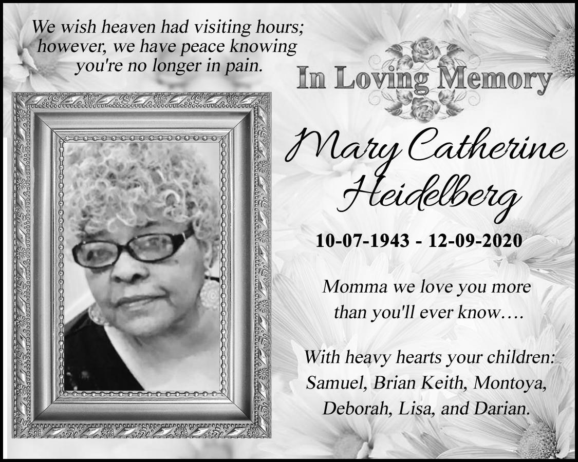 Mary Catherine Heidelberg 2