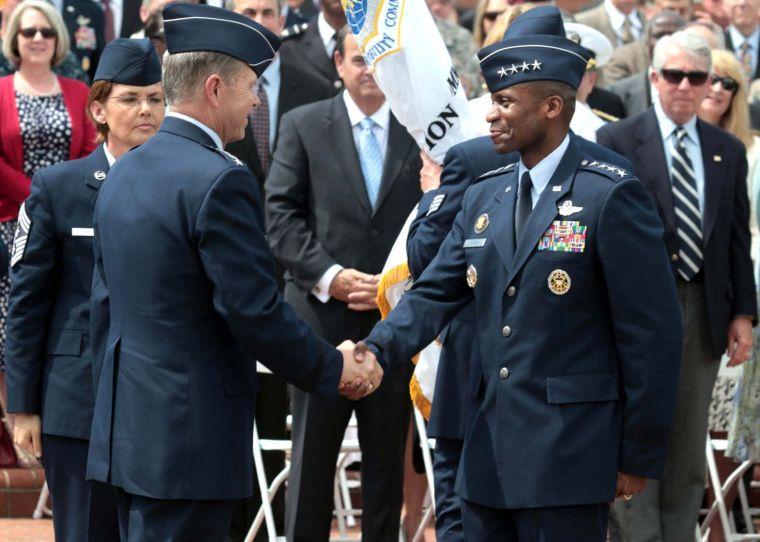 Darren W. McDew Gen Darren McDew has top job at Air Mobility Command Business