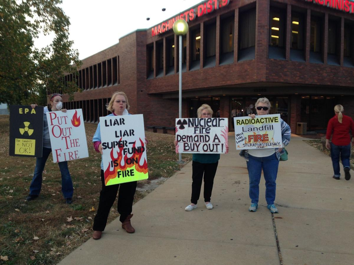 West Lake Landfill protesters
