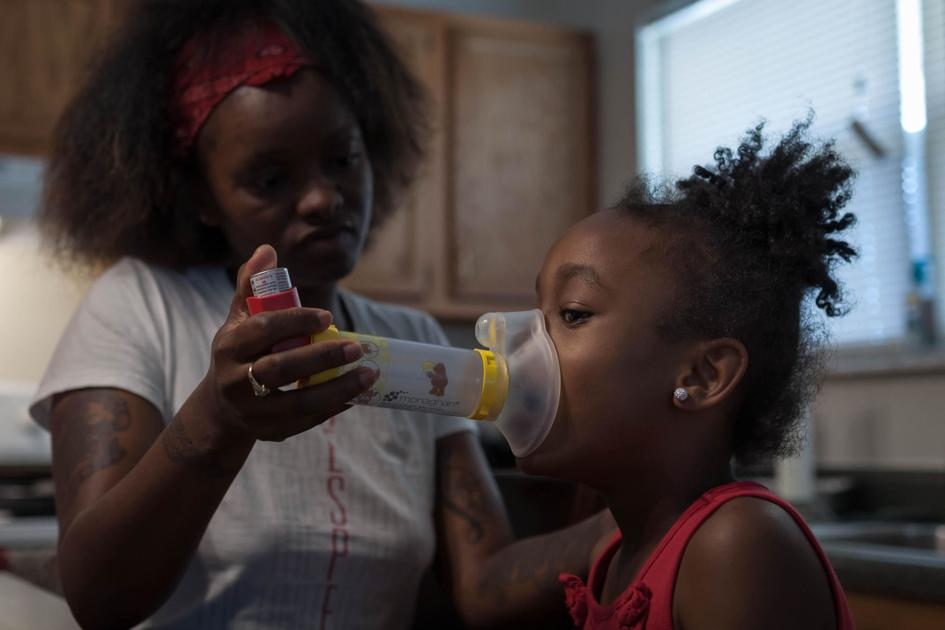 Black children in St. Louis far more likely to visit the ER For asthma than whites