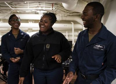STL sailor sings the gospel at sea