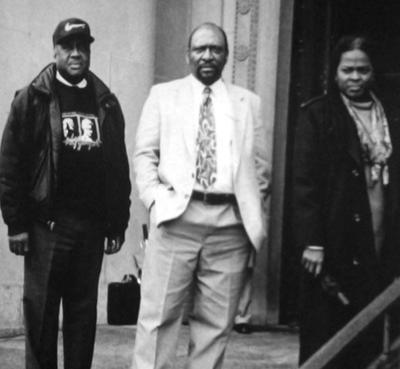 Bernie Hayes, Percy Green and Jamala Rogers