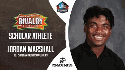 Jordan Marshall Scholar Athlete