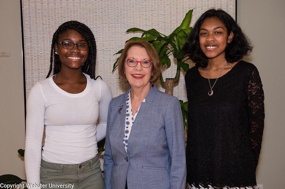 Webster University Chancellor Elizabeth (Beth) Stroble with 2019