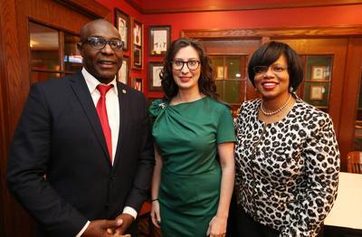 Lewis Reed, Megan Ellyia Green and Jamilah Nasheed