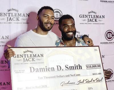 Omari Hardwick and Damien D. Smith