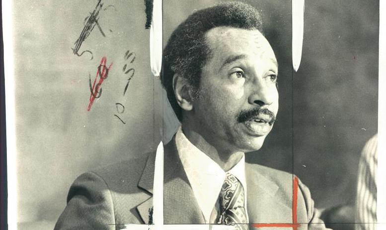 late former U.S. Rep. Parren Mitchell, D-Maryland