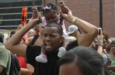 Ferguson Father and Daughter