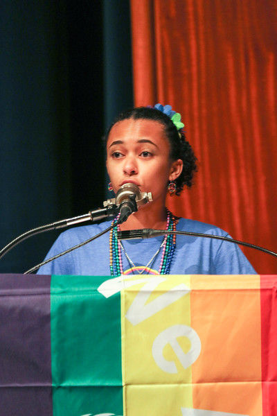 You are brave\': a celebration of Jake Bain and other LGBTQ youth ...