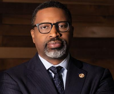 Derrick Johnson, president and CEO of the NAACP