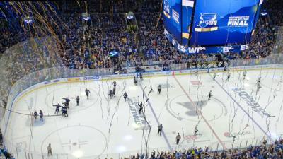 Blues fans rejoice as St. Louis clinches first Stanley Cup Final appearance in 49 years