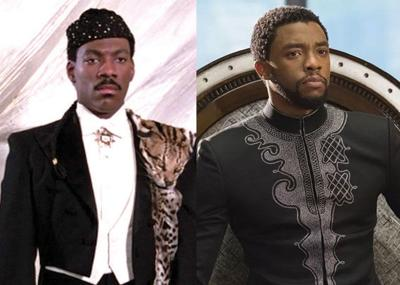 Akeem and T'Challa