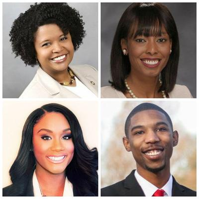 Maria Chappelle-Nadal, Cora Faith Walker, Raychel Proudie and Kevin Windham Jr.