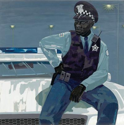 "Kerry James Marshall's ""Untitled (policeman)"""