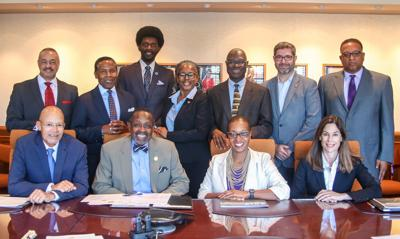 Harris-Stowe State University Board of Regents presidential search committee