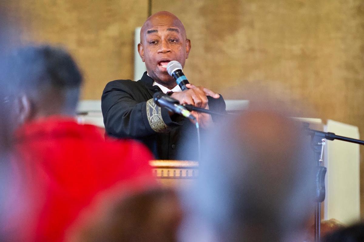Chaplain Barry C. Black