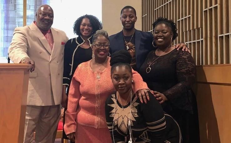 Rev. Carl S. Smith and family