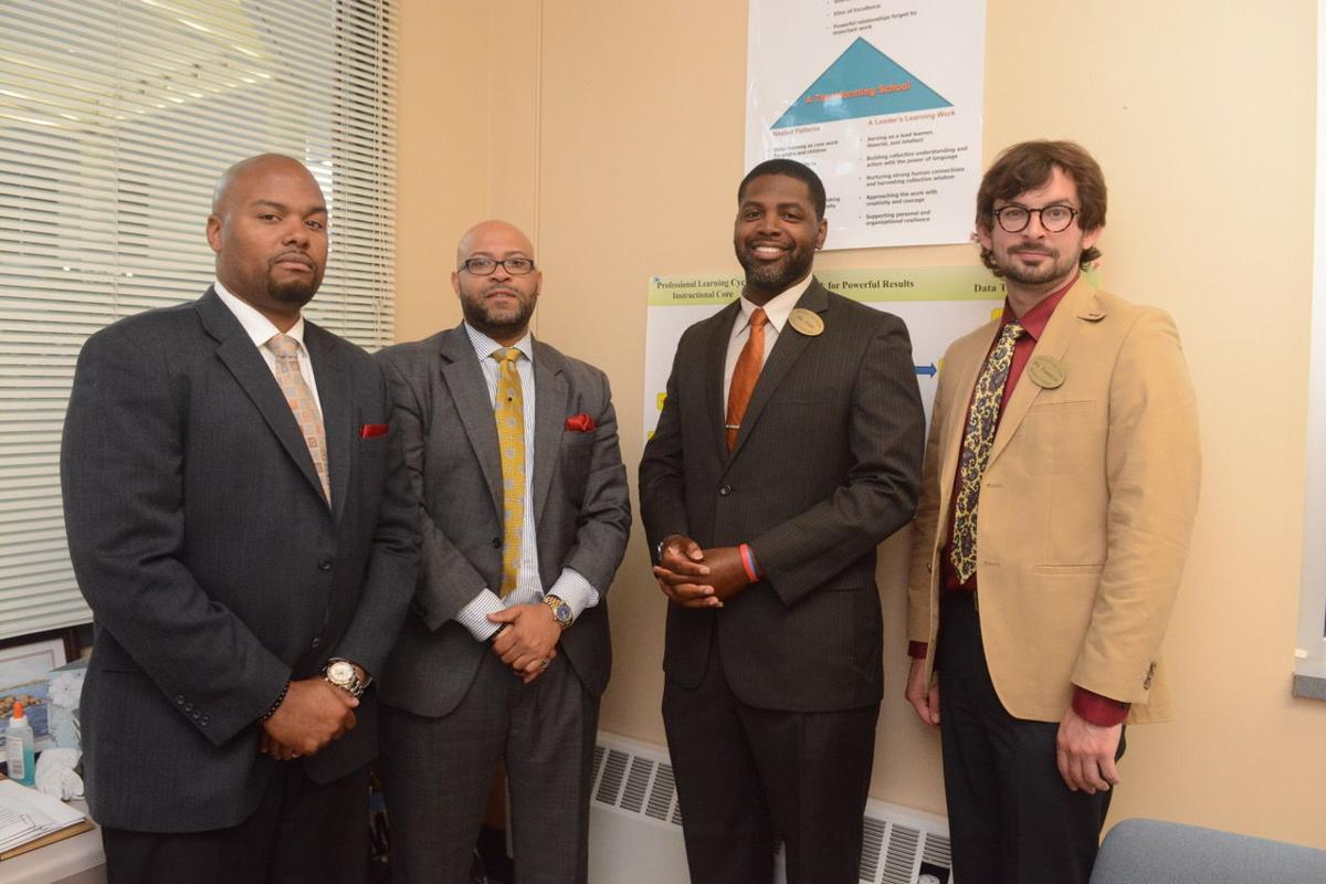 Willie Eaglin, Cedric Gerald, Courtney Ford and Andrew Emmerich