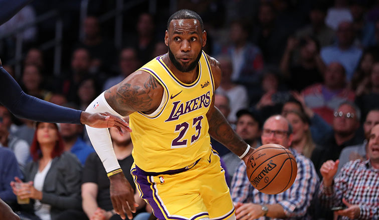 LeBron makes home debut as a Laker | Local Sports ...