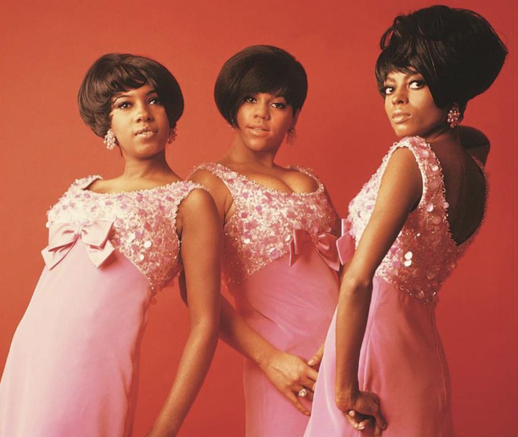 Mary Wilson, Florence Ballard and Diana Ross, the original Supremes