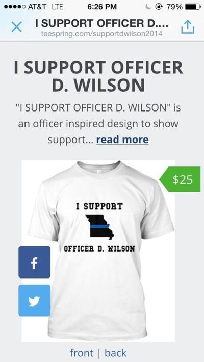 Darren Wilson T-shirts