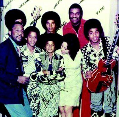 Bernie Hayes with The Jackson 5