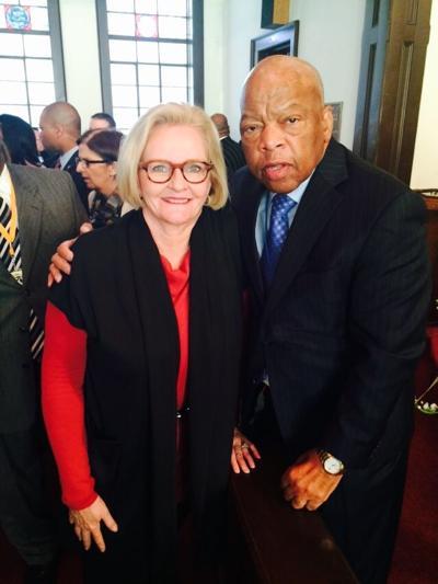 Sen. Claire McCaskill and Rep. John Lewis