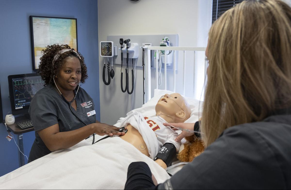 nursing student Rahab Ndungu