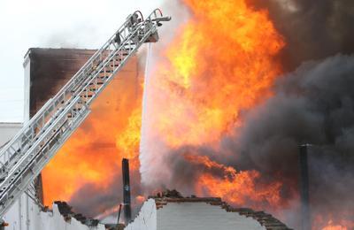 South city warehouse fire