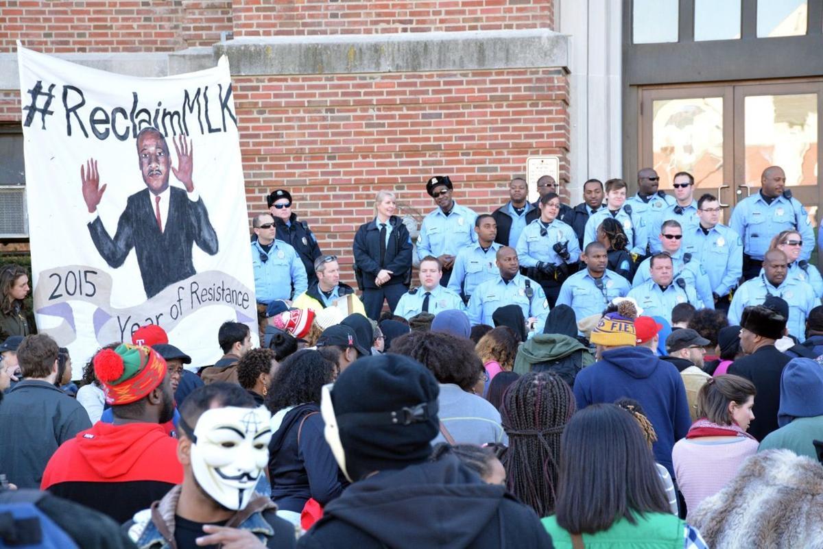 MLK protest