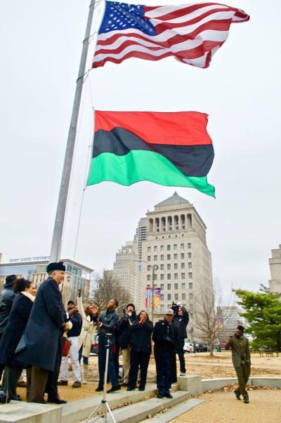 St. Louis city alderman receives threatening letter from KKK over flag honoring Black History Month