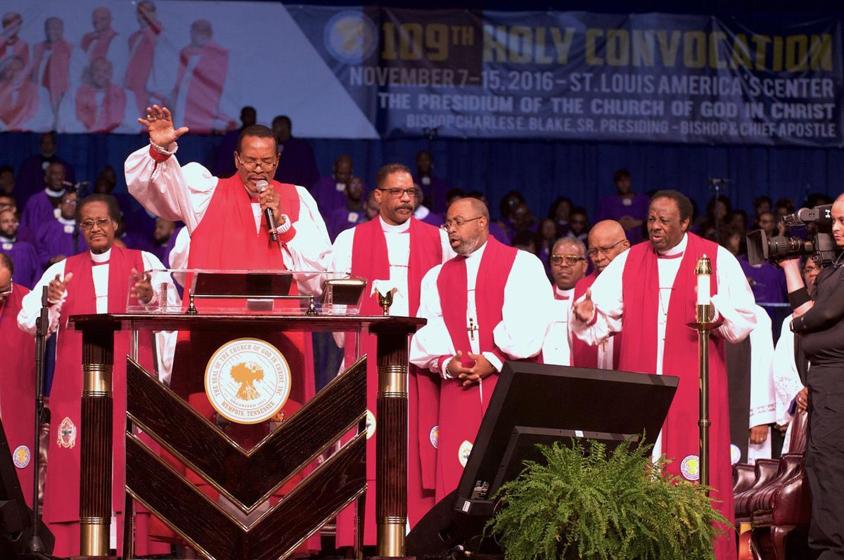 Presiding Bishop Charles Edward Blake Sr.
