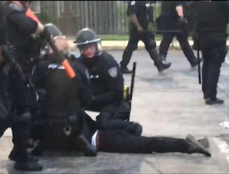 Florissant protest arrest