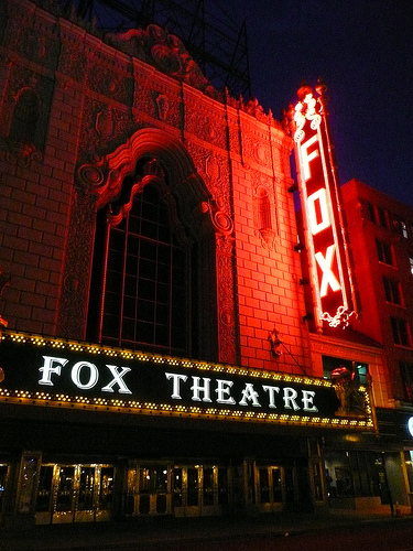 Fox Theatre Undergoing 2 Million Renovation Local News