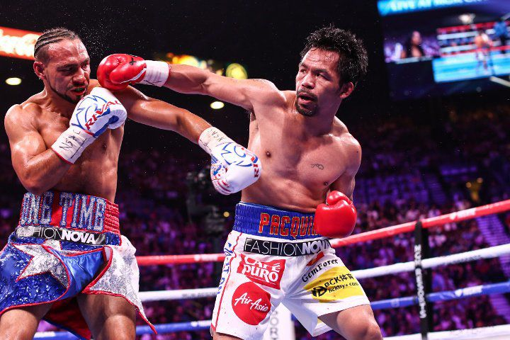 Keith Thurman vs Manny Pacquiao