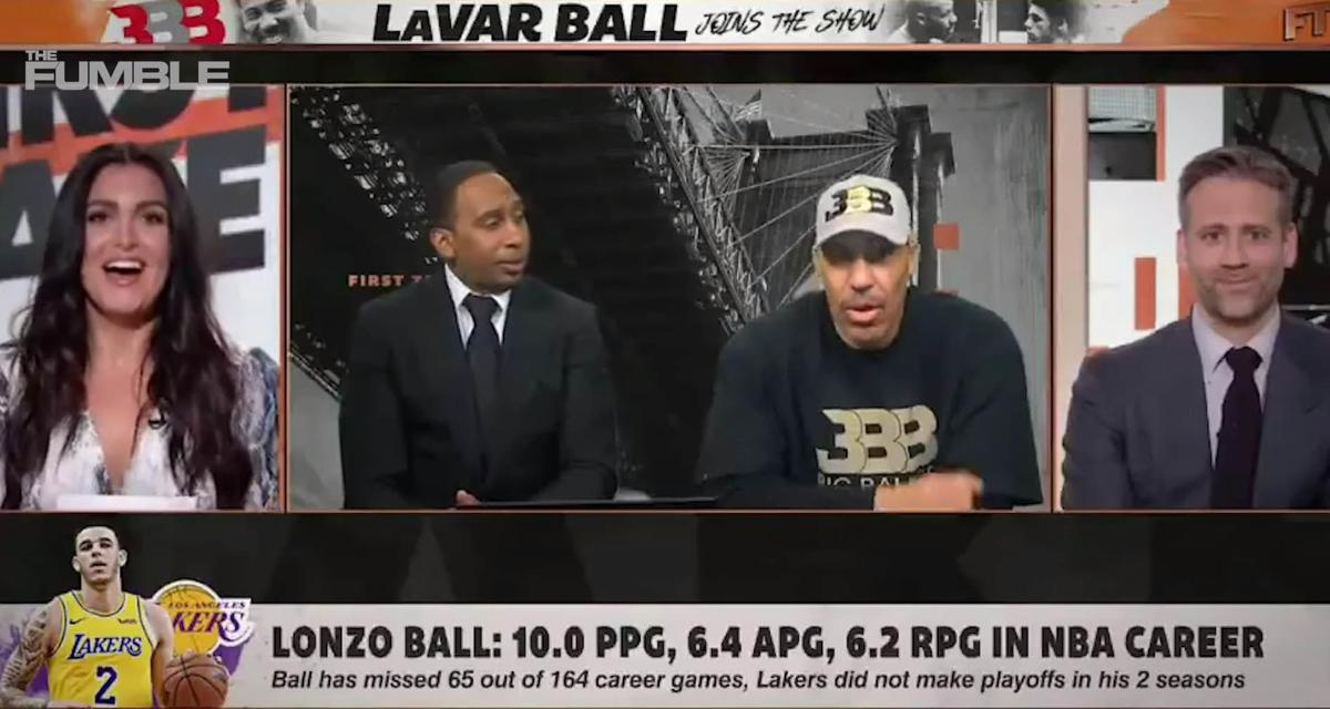 LaVar Ball on 'First Take'