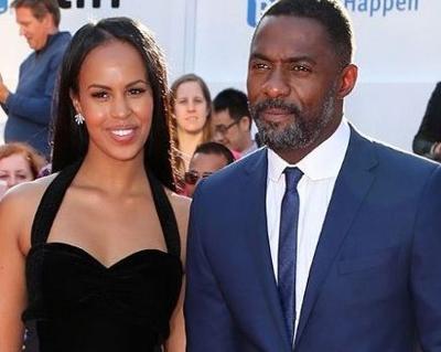 Sabrina and Idris Elba