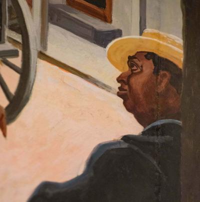 Thomas Hart Benton's mural A Social History of the State of Missouri