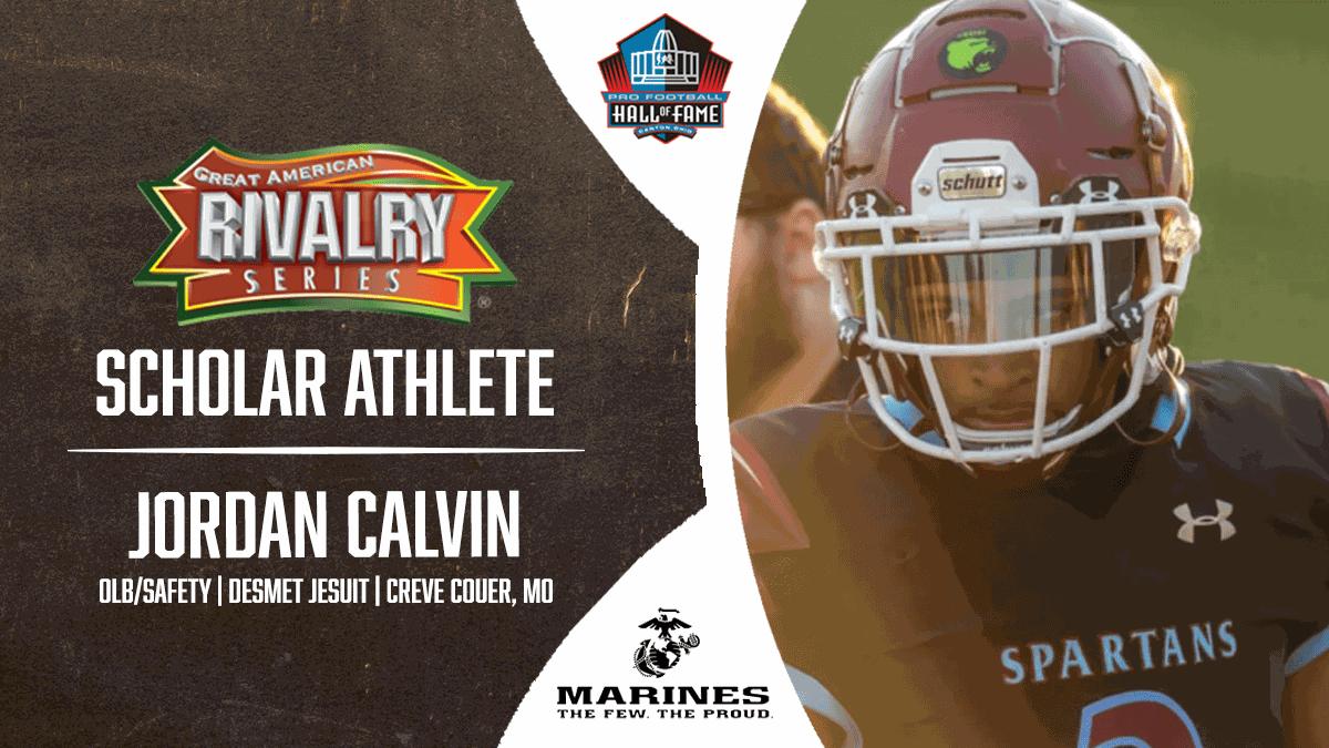 Jordan Calvin - Scholar Athlete