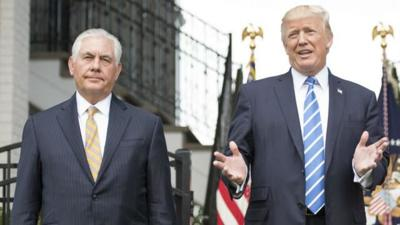 Trump fires Tillerson, taps Pompeo as next secretary of state