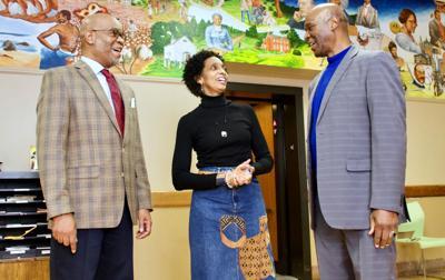Better Family Life Interim CEO Darryl G. Grimes, and cofounders Deborah and Malik Ahmed