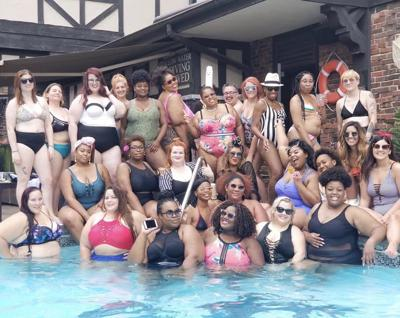 Fluffy GRL Movement hosts Curves N' Waves pool party in Collinsville on Saturday