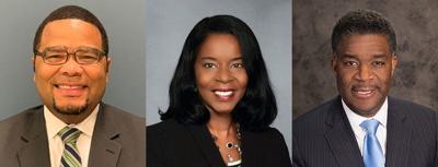 Kevin Buie Sr., Pamela Kelly and Patrick Smith Sr.