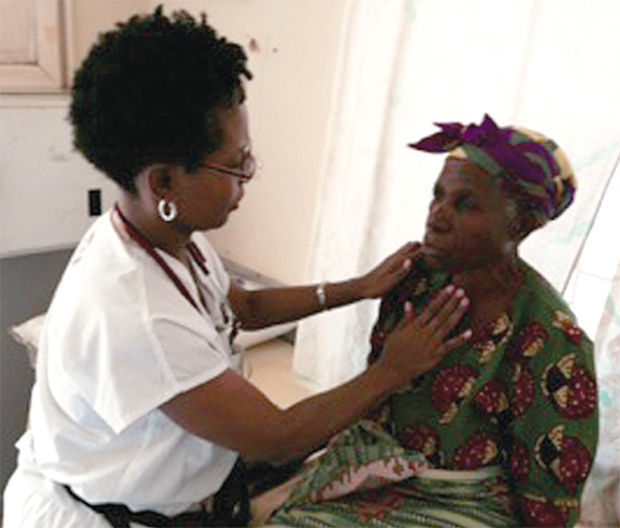 Denise Hooks-Anderson, M.D. in Malawi