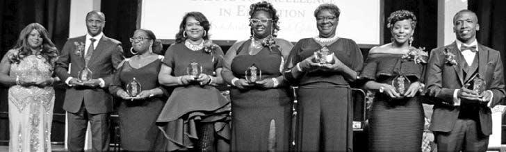 2017 Salute to Education awardees
