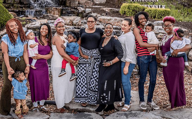 Jamaa Birth Village team family