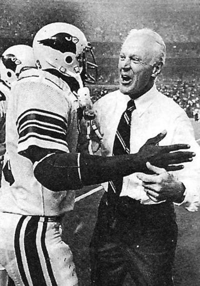 Theotis Brown and Bud Wilkinson